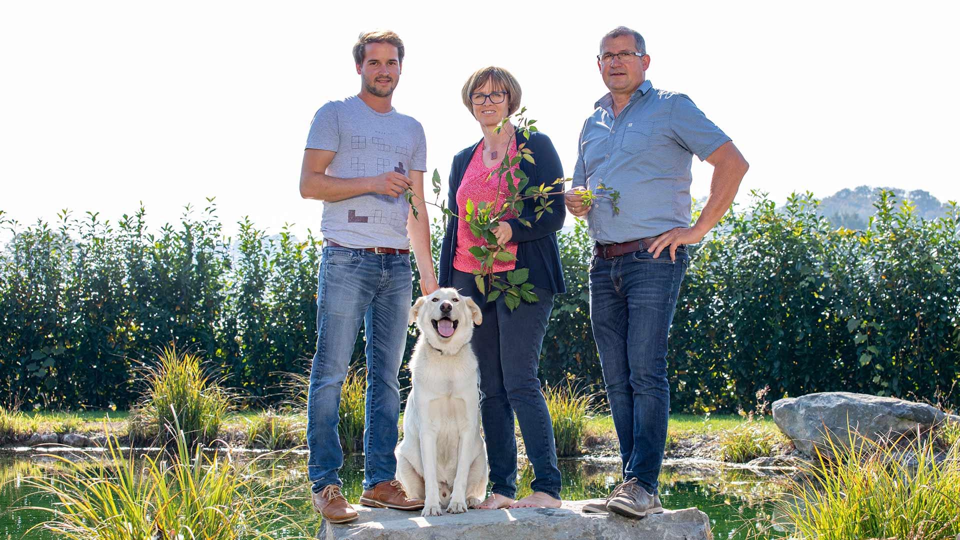 Beerengut Bauerngemeinschaft Straden Familie Lenz